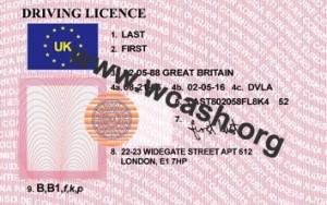 United Kingdom (uk) drivers license